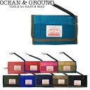 メール便 OCEAN&GROUND オーシャン&グラウンド 財布 三つ折り キッズ ウォレット 男の子 女の子 全10色 1715915 コイ…