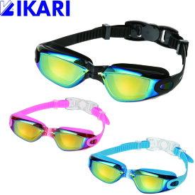 ゴーグル 水泳 子供 キッズ ジュニア スイミング スイムゴーグル イカリ IKARI AMG203 フィオーレ 6才から12才 男の子 女の子