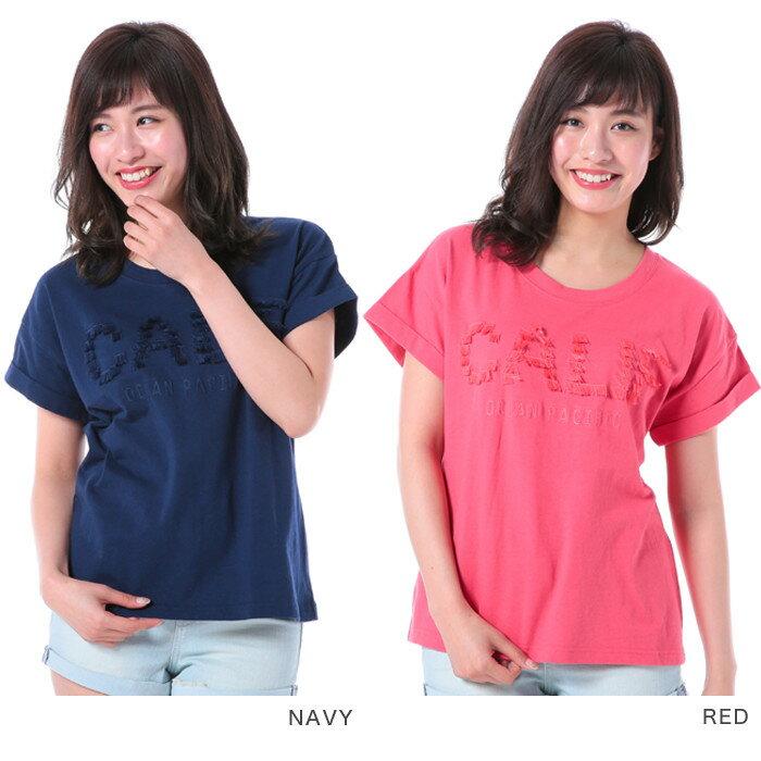 Tシャツ レディース 半袖 OP カジュアル オーシャンパシフィック Ocean Pacific 526516 半袖Tシャツ 文字Tシャツ 郵 メール便 送料無料