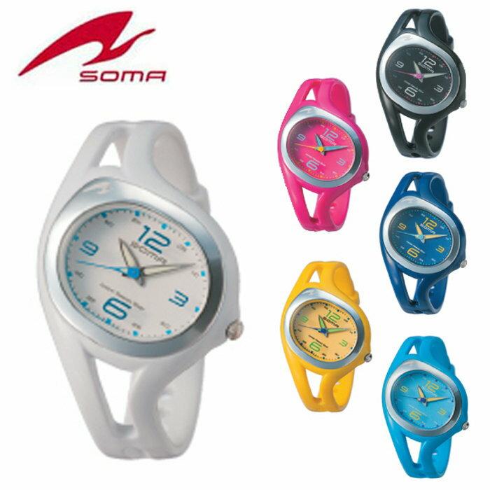 送料無料 ランニングウォッチ soma RunONE SMALL ANALOG DYK51 アナログ ジョギング ウォーキング マラソン ウォッチ 腕時計 スポーツウォッチ スポーツを楽しむための時計 メンズ レディース ユニセックス