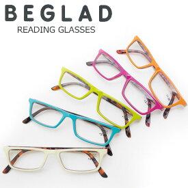 老眼鏡 おしゃれ シニアグラス ツートンカラー メガネケース付き 度数 1.0 - 2.5 BGE1017 1.0-2.5 エレガント コンパクト 携帯 メンズ レディース 2個ご購入で メール便 送料無料