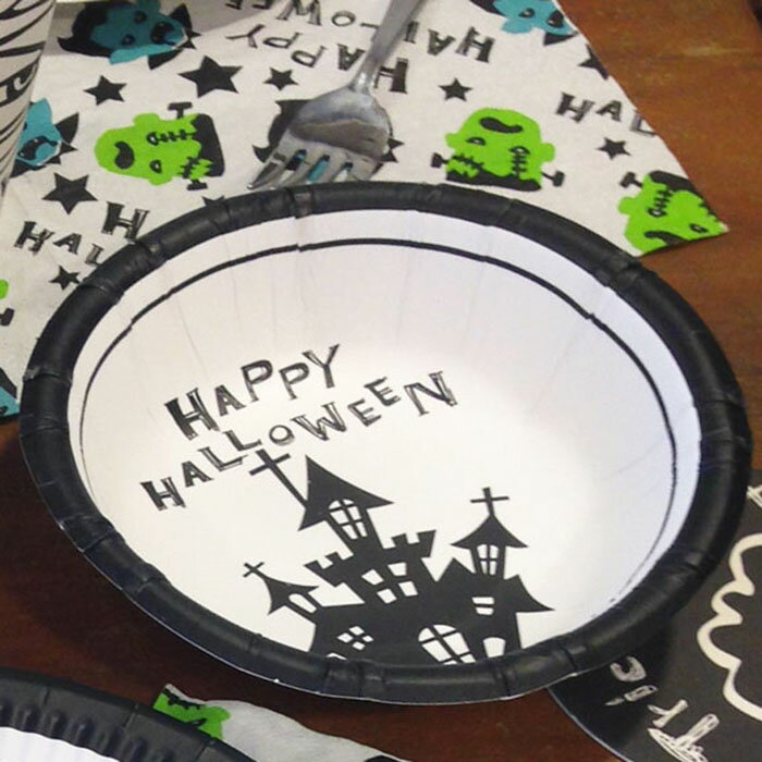 ハロウィン 飾り グッズ 雑貨 ペーパーボウル 9枚入り 3柄アソート 紙皿 ペーパー皿 ハロウイン イベント ハロウィーン halloween