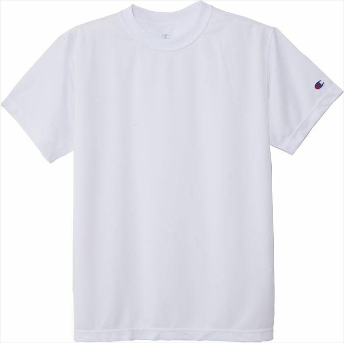 Tシャツ チャンピオン 半袖 Champion C3-HB390 010 ホワイト スポーツ ブランド バスケットボールウェア プラクティスシャツ インナー トップス 部活 練習着 トレーニング 男女兼用 レディース メンズ 郵 メール便 対応