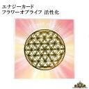 【メール便送料無料】エナジーカード フラワーオブライフ 活性化【神聖 幾何 学 カード エネルギー 占い セット 効果 …