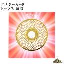 【送料無料】エナジーカード トーラス 循環【神聖 幾何 学 カード エネルギー 占い セット 効果 種類 意味 天然石 浄…