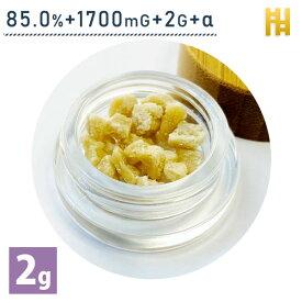 CBD ワックス クランブル 85% CBD1700mg 2g ブロードスペクトラム 高濃度 検査証付き 厚生省届出済み オイル リキッド ペン