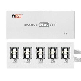 【9月下旬入荷】YOCAN EVOLVE PLUS用 替えコイル5個セット