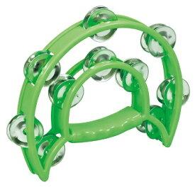 ダンスタンバリン(緑) 楽器 送料無料