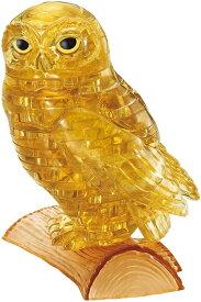 クリスタルパズル オウル・ゴールド 42ピース 頭がよくなるパズル 送料無料