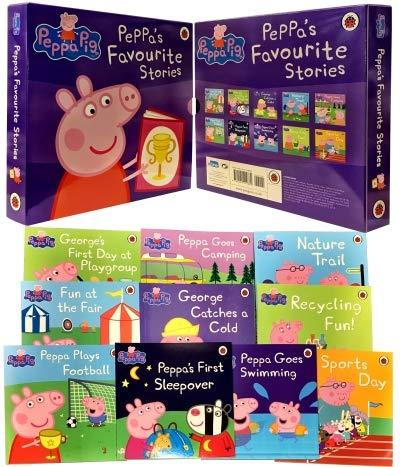 Peppa'sFavouriteStories(10冊入)ペッパーピッグ英語絵本English読み聞かせプレゼントギフト