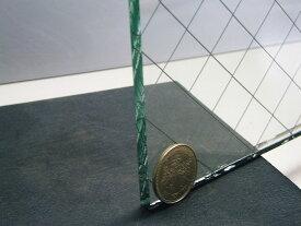 網入り透明ガラス6.8ミリ交換