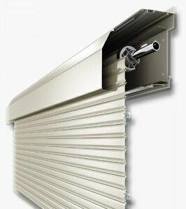 YKKAP メーカー純正品 手動 シャッター 16020 新築戸建 窓シャッター 防犯 簡単取付 後付 壁付 リフォーム シャッター【販売のみ】 対象窓幅 既存サッシ外径W1630mm x 高さ H2086mm に対応