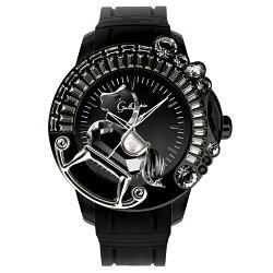 ガルティスコピオ腕時計LAGIOSTRA1馬3ブラック