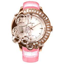 ガルティスコピオ腕時計DARMIUNABBRACCIO熊19ピンク/ローズゴールド