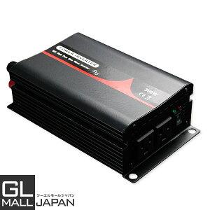 インバーター 純正弦波 300W DC12V_AC100V 50/60Hz選択 / 定格300W 最大600W 高品質 アウトドア 防災 インバーター 正弦波 有ると便利なコスパに優れたインバーター!車載用・家庭用に
