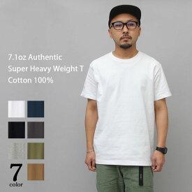 【10%OFF】【ポイント10倍】Tシャツ メンズ 半袖 無地 カットソー 厚手 オーバーサイズ 黒 白 tシャツ ヘビーウェイト ブラック ホワイト ビッグT 7.1oz 丸胴 シンプル