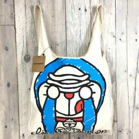 アイムドラえもん(アップ) 帆布エコバッグ(CHE2-IDR-UP) I'm Doraemon キャンバス キャラクター ファッション お買物バッグ トートバッグ キャンプ 旅行 お出かけ 可愛い 誕生日 プレゼント サンリオ 【あす楽】