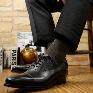 ナイガイ SUPERIOR(スーペリオール) 海島綿 シーアイランドコットン 高級 靴下 綿100% メンズ クルー丈 ソックス 男性 メンズ プレゼント 贈答 ギフト2232-299ポイント10倍