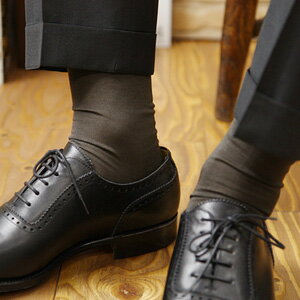ナイガイ SUPERIOR(スーペリオール) 海島綿 シーアイランドコットン 高級 靴下 綿100% メンズ ロングホーズ ハイソックス 男性 メンズ プレゼント 贈答 ギフト2232-919ポイント10倍