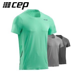 cep(シー・イー・ピー) RUN SHIRT SHORT SLEEVE ランニングシャツ)高機能ランニングウェアランニング マラソン トレーニング スポーツ全般 半袖シャツ男性 メンズ プレゼント 贈答 ギフト2883-004