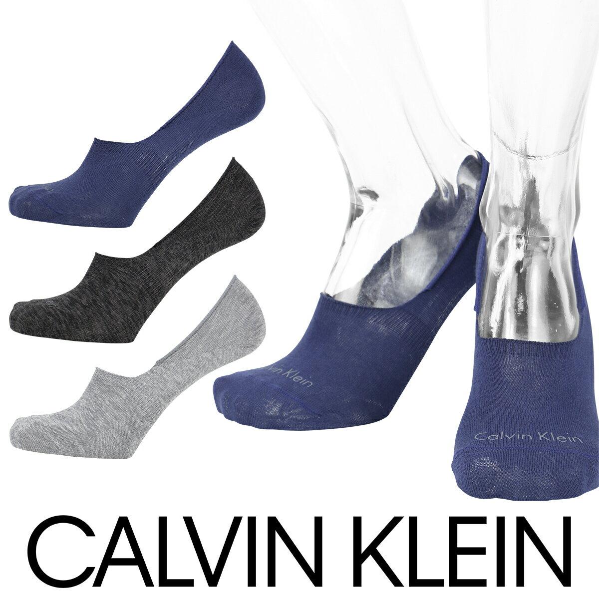 Calvin Klein ( カルバンクライン )Casual フットカバー ソックスフロントロゴ カバーソックスメンズ かかと滑り止め付き カジュアル ソックス 男性 メンズ プレゼント 贈答 ギフト2522-495ポイント10倍
