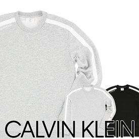 Calvin Klein Statement 1981 Lounge カルバンクライン・ステートメント ラウンジ長袖 スウェットシャツプレゼント 贈答 ギフト5369-1612 NM1612ADASIAN FIT(日本サイズ)ポイント10倍