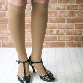 着圧ソックス 段階圧力設計 弾性ストッキング 足口 21hPa 足首 35hPa NAIGAI COMFORT ナイガイ コンフォート レディス ソックス 婦人 靴下 脚のハリや疲れ予防に 3070-301ポイント10倍