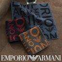 EMPORIO ARMANI エンポリオ アルマーニ EAロゴ 綿100% タオルハンカチ(ハンドタオル)男性 メンズ プレゼント 贈答 …