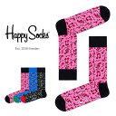 Happy Socks ハッピーソックスCITY JAZZ ( シティ ジャズ )クルー丈 綿混 ソックス 靴下ユニセックス メンズ & レ…