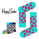 【ポイント20倍】Happy Socks ハッピーソックスSUNNY SIDE UP ( サニー サイドアップ )クルー丈 綿混 ソックス 靴下ユニセックス メンズ & レディス プレゼント 贈答 ギフト1A117012