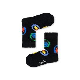 【ポイント20倍】Happy Socks ハッピーソックス【Limited】Happy Socks × The Beatles( ザ・ビートルズ ) BRIGHT SPOT ( ブライトスポット )子供 クルー丈 綿混 ソックス 靴下KIDS ジュニア キッズ 12217007