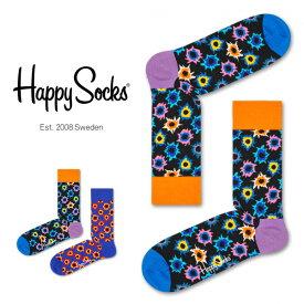 セール!40%OFFHappy Socks ハッピーソックスBANG ( バング )クルー丈 綿混 ソックス 靴下ユニセックス メンズ & レディスプレゼント 贈答 ギフト1A113002ポイント10倍