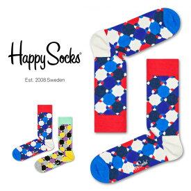 セール!40%OFFHappy Socks ハッピーソックスDIAMOND DOT ( ダイヤモンド ドット )クルー丈 綿混 ソックス 靴下ユニセックス メンズ & レディスプレゼント 贈答 ギフト1A113008ポイント10倍
