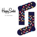 Happy Socks ハッピーソックスJUNK FOOD ICE CREAM ( アイスクリーム )クルー丈 綿混 ソックス 靴下 ユニセックス …