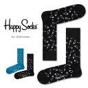 セール!40%OFFHappy Socks ハッピーソックスPINS ( ピンズ )クルー丈 綿混 ソックス 靴下 ユニセックス メンズ &…