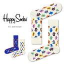 【ポイント20倍】Happy Socks ハッピーソックスTEDDYBEAR ( テディーベア )クルー丈 綿混 ソックス 靴下 ユニセック…