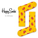 【Super Sale限定30%OFF!】Happy Socks ハッピーソックスTRUE LOVE ( トゥルー ラブ )クルー丈 綿混 ソックス 靴下 ユニセックス メンズ & レディスプレゼント 贈答 ギフト1A113033