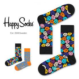 セール!40%OFFHappy Socks ハッピーソックスTWISTED SMILE ( ツイスト スマイル )クルー丈 綿混 ソックス 靴下ユニセックス メンズ & レディスプレゼント 贈答 ギフト 1A113034ポイント10倍
