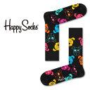 【Super Sale限定30%OFF!】Happy Socks ハッピーソックスDOG (ドッグ )クルー丈 綿混 ソックス 靴下 ユニセックス メンズ & レディスプレゼント 贈答 ギフト1A113038