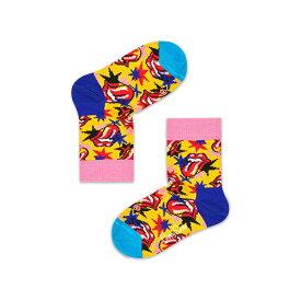 【ポイント20倍】Happy Socks ハッピーソックス【Limited】 Happy Socks × The Rolling Stones ( ローリングストーンズ )I GOT THE BLUES ( アイ ゴット ザ ブルース )子供 クルー丈 ソックスKIDS ジュニア キッズ 12213001