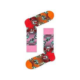 【ポイント20倍】Happy Socks ハッピーソックス【Limited】 Happy Socks × The Rolling Stones ( ローリングストーンズ )RUBY TUESDAY ( ルビー・チューズデイ )クルー丈 ソックス 靴下メンズ&レディスプレゼント 贈答 ギフト1A413001