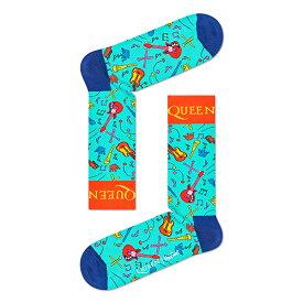 Happy Socks ハッピーソックス【Limited】Happy Socks × QUEEN ( クイーン ) THE WORKS ( ザ ワークス )クルー丈 ソックス 靴下ユニセックス プレゼント 贈答 ギフト1A413013