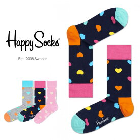 セール!50%OFFHappy Socks ハッピーソックスHEARTS ( ハート )クルー丈 綿混 ソックス 靴下ユニセックス メンズ & レディスプレゼント 贈答 ギフトh605035ポイント10倍
