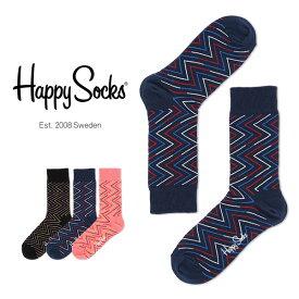 セール!50%OFFHappy Socks ハッピーソックスZIGGY ( ジギー ) クルー丈 綿混 ソックス 靴下ユニセックス メンズ & レディスプレゼント 贈答 ギフトh605092ポイント10倍