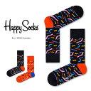 【Super Sale限定55%OFF!】Happy Socks ハッピーソックスPAPERCUT ( ペーパーカット ) クルー丈 綿混 ソックス 靴下ユニセックス メンズ & レディスプレゼント 贈答 ギフトh605100ポイント10倍