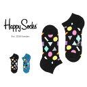 Happy Socks ハッピーソックスPLAY ( プレイ ) スニーカー丈 綿混 ソックス 靴下ユニセックス メンズ & レディス …