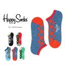 【ポイント20倍】Happy Socks ハッピーソックスBIG DOT ( ビッグドット )Athletic スニーカー丈 パフォーマンス 綿混 ソックス 靴下 底パイル アーチサポートユニセックス メンズ & レディスプレゼント 贈答 ギフトh605320