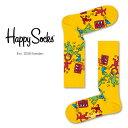 セール!33%OFFHappy Socks ハッピーソックスKEITH HARING-2 ( キースヘリング-2 )【Limited】 Happy Socks × Keith Haring綿混 クルー丈 ソックス 靴下ユニセックス メンズ & レディスプレゼント 贈答 ギフトh605834ポイント10倍