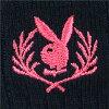 PLAYBOY - 校服袜女士及膝袜 /  [ 长度: 36cm ]  [ 刺绣Playboy徽章标志 ] / 3737-693 / 所有产品均享10倍积分 !!