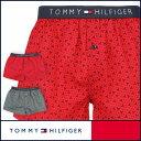 【郵送160円】セール!50%OFFTOMMY HILFIGER|トミーヒルフィガー Flag Woven Boxer Geo コットン ジオ トランクス 53...
